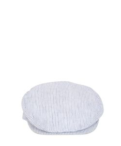 GI'N'GI | Striped Cotton Coppola Hat