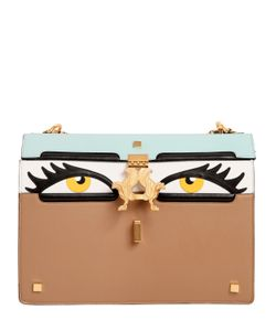GIANCARLO PETRIGLIA | Medium Peggy Eyes Nappa Leather Bag