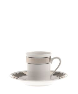 GIANFRANCO FERRÉ HOME | Galles Set Of 6 Espresso Cups Saucers