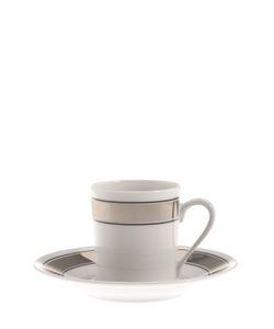GIANFRANCO FERRÉ HOME | Galles Set Of 6 Espresso Cups Saucers