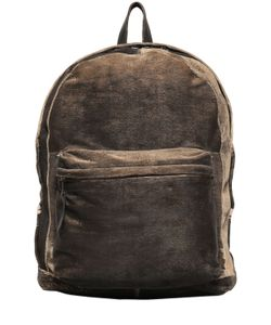 Giorgio Brato | Carved Washed Leather Backpack