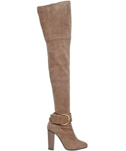 Giuseppe Zanotti Design | 105mm Stretch Suede Over The Knee Boots
