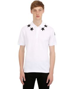 Givenchy | Cuban Star Patches Piqué Polo Shirt
