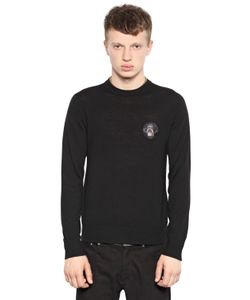 Givenchy   Wool Knit Rottweiler Sweater