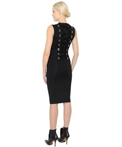 Givenchy | Lace-Up Milano Jersey Knit Pencil Dress