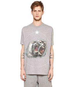 Givenchy | Columbian Monkeys Cotton Jersey T-Shirt