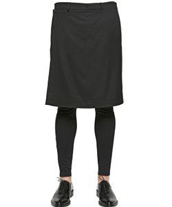 Givenchy   Front Panel On Wool Bermuda Shorts