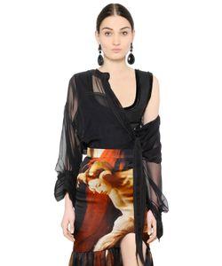 Givenchy   Silk Chiffon Shirt