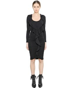 Givenchy | Ruffled Cashmere Jersey Dress