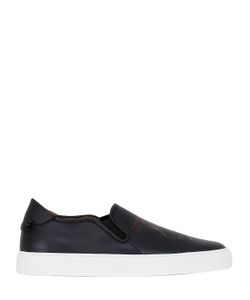 Givenchy | Army Skull Leather Slip-On Sneakers