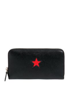 Givenchy | Smooth Leather Wallet With Star