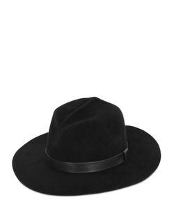 GLADYS TAMEZ MILLINERY | Sagittarius Velour Felt Hat