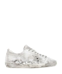 Golden Goose | Super Star Jersey Leather Sneakers