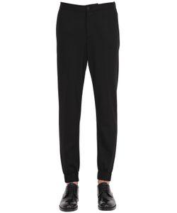 GTA | Wool Blend Flannel Jogging Pants