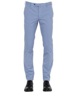 GTA | 17cm Slim Light Cotton Gabardine Pants