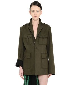 Haider Ackermann | Military Felted Parka Coat
