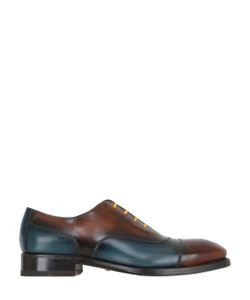 Harris | Two Tone Brushed Leather Oxford Shoes