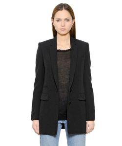Helmut Lang | Stretch Viscose Blend Suiting Jacket
