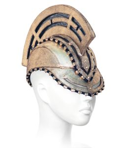 HOUSE OF MALAKAI | Trojan Leather Hat/Mask