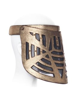 HOUSE OF MALAKAI | Labyrinth Leather Visor Mask