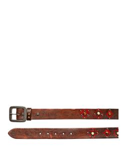 HTC Hollywood Trading Company | Daquan Hand-Painted Studded Leather