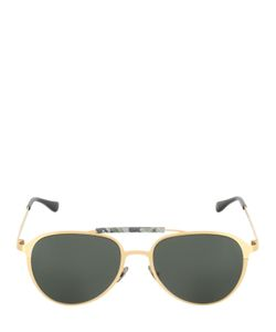 HUBLOT ITALIA INDEPENDENT | Green Camo Aviator Sunglasses