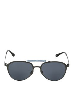 HUBLOT ITALIA INDEPENDENT | Blue Camo Aviator Sunglasses