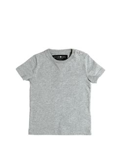 HYDROGEN KID | Printed Mesh Cotton Jersey T-Shirt
