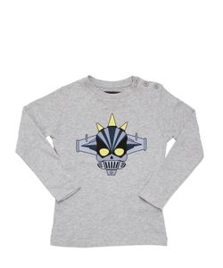 HYDROGEN KID | H-Robot Printed Cotton Jersey T-Shirt