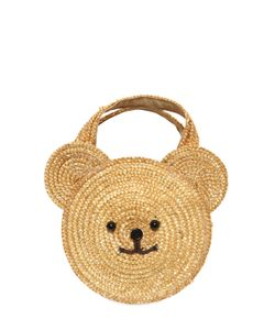 I Pinco Pallino | Bear Straw Handbag