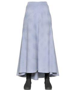 I'm Isola Marras | Long Cotton Velvet Skirt