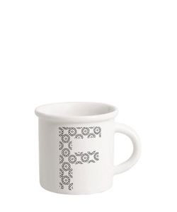 ILARIA.I | Letter F Porcelain Mug