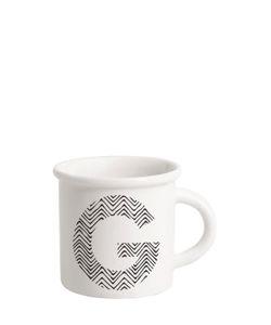 ILARIA.I | Letter G Porcelain Mug