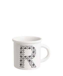 ILARIA.I | Letter R Porcelain Mug