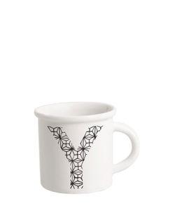 ILARIA.I | Letter Y Porcelain Mug