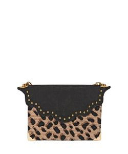 Imemoi | Envelope Mini Jacquard Leather Clutch