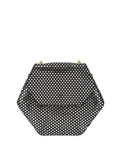 Imemoi | Esagon Dots Lasert Cut Nappa Leather Bag