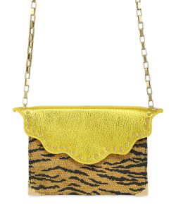 Imemoi | Mini Envelope Shoulder Bag In Raffia