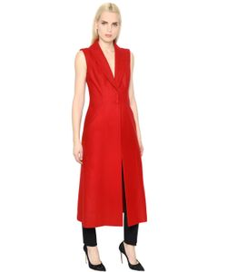 INGIE   Wool Cloth Long Vest