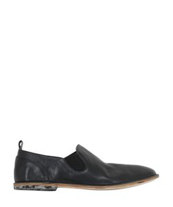INK SHOES | Textured Leather Loafers