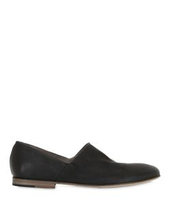 INK SHOES | Textured Nappa Leather Loafers