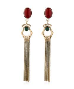 IOSSELLIANI | Anubian Fringe Drop Earrings
