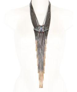 IOSSELLIANI | Swarovski Crystal Tribal Deco Y Necklace