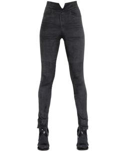 Isabel Marant | High Waist Stretch Suede Pants