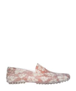 iShu+ | Floral Printed Rubber Car Shoes