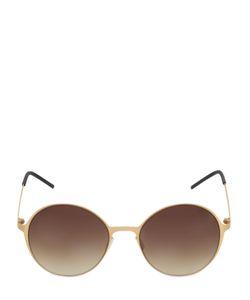 Italia Independent | I-Thin Lightweight Rounded Sunglasses