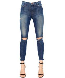 J Brand | Alana High Rise Cropped Denim Jeans