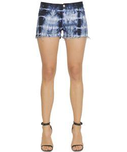 J Brand | Low Rise Cut Off Tie Dye Denim Shorts