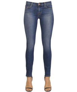 J Brand | Mid Rise Skinny Stretch Denim Jeans