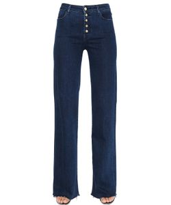 J Brand | Thea High Rise Cotton Denim Jeans